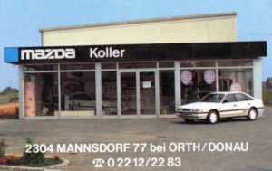 1984 Alfred Koller - Autohaus Koller | Mazda & Ford Händle