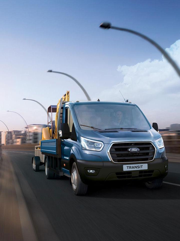 Nutzfahrzeuge Beispiel FORD TRANSIT - Autohaus Koller | Mazda & Ford Händler