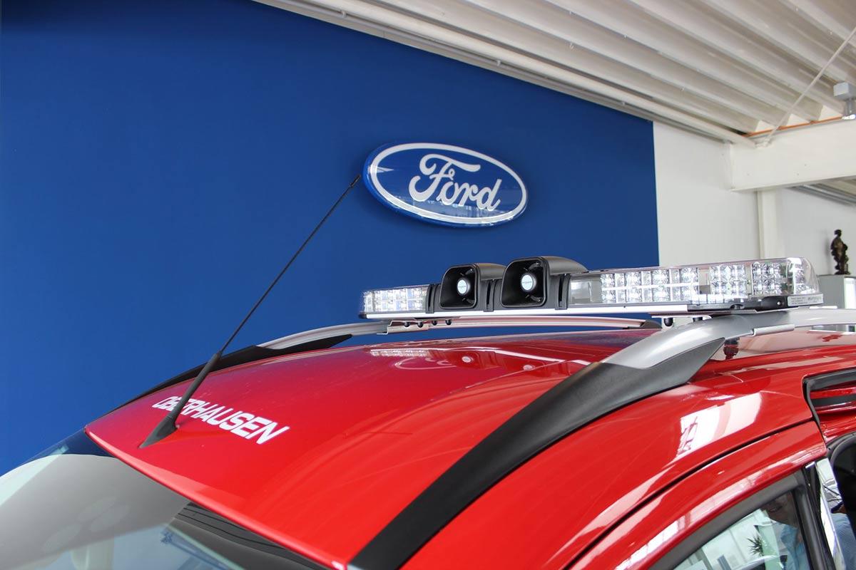 Nutzfahrzeuge Beispiel Feuerwehr - Autohaus Koller | Mazda & Ford Händler