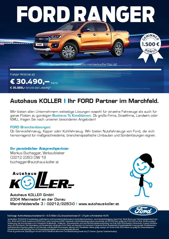 FORD SAVER 2021 - Autohaus Koller | Mazda & Ford Händler