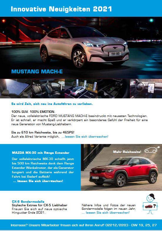 Weihnachtsgrüsse - - Autohaus Koller | Mazda & Ford Händler